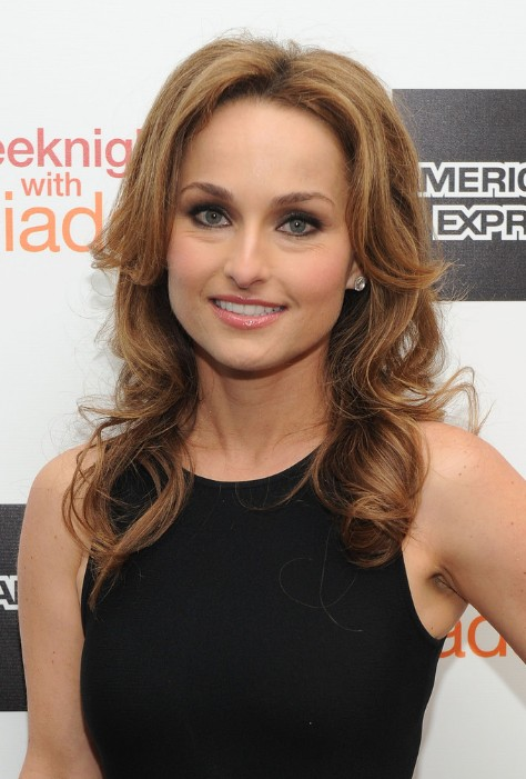 Giada Laurentiis Long Curly Hairstyles For Thin Hair thumb
