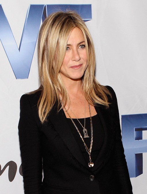 Pleasant Long Hairstyles With Layers Jennifer Aniston Long Hairstyles Short Hairstyles Gunalazisus