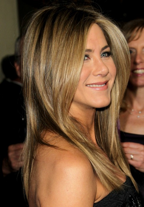 Jennifer Aniston Long Length Hairstyles