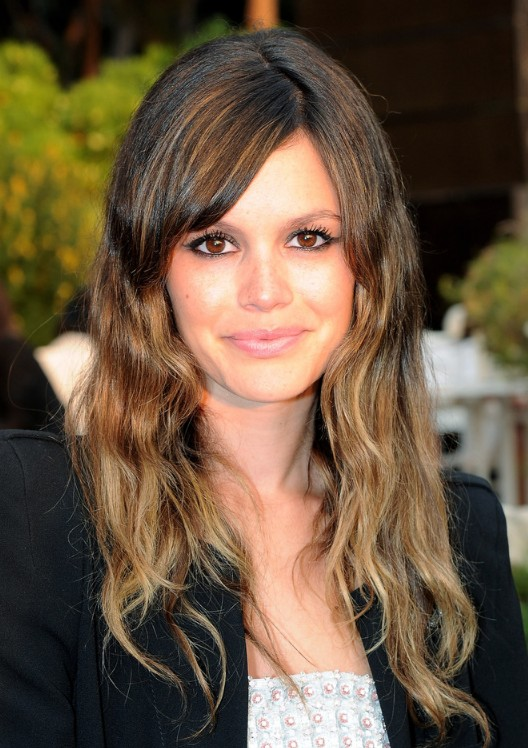 2013 Long Ombre Hairstyle with Bangs