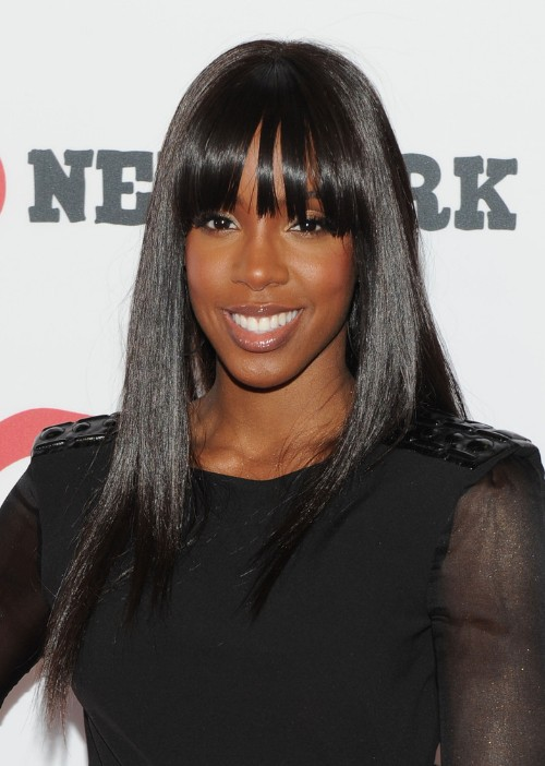 2013 Long Sleek Black Hairstyle for Black Women