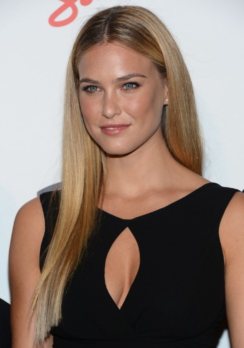 Bar Refaeli Long Sleek Hairstyles For Women Hairstyles