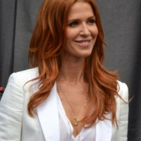 Poppy Montgomery Long Yellow Hairstyle with Layers