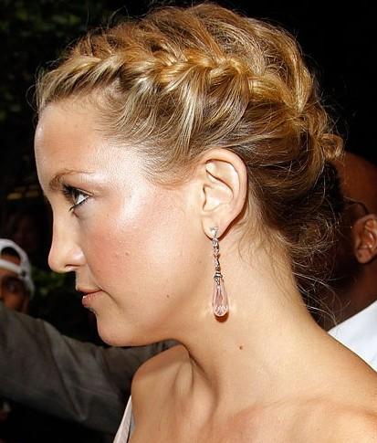 Fine Loose French Braided Updo Hairstyle Beautiful Updo Short Hairstyles Gunalazisus