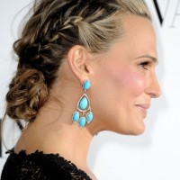 Molly Sims Braided Updo for Homecoming Hairstyles 2013