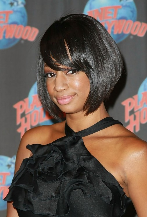 African American Short Haircut Ideas: Sleek Bob Haircut – 2014 Bob