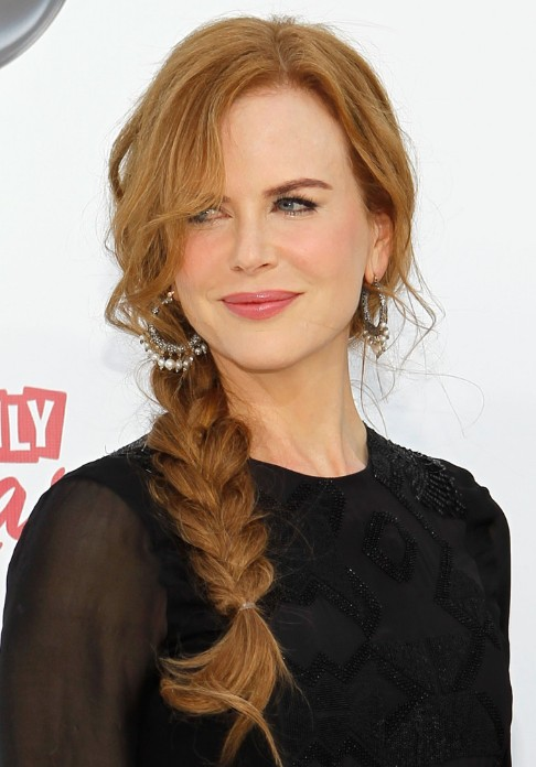 Nicole Kidman Fishtail - Most Popular Braided Hairstyles This Year
