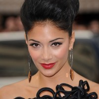 African American Black Updo Hairstyle for Black Women
