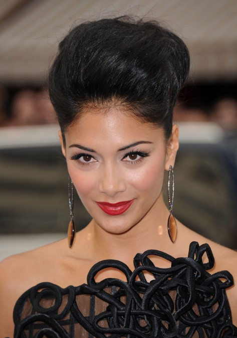 Remarkable African American Black Updo Hairstyle Bobby Pinned Updo Short Hairstyles Gunalazisus