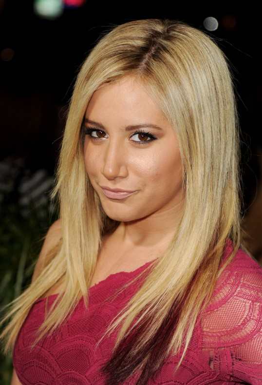 Ashley tisdale cute no fuss long hair styles