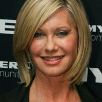 Olivia Newton-John short hairstyle for women over 50s 60s
