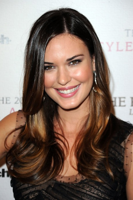 Ombre hair style 2013 – layered long sleek hairstyle for women