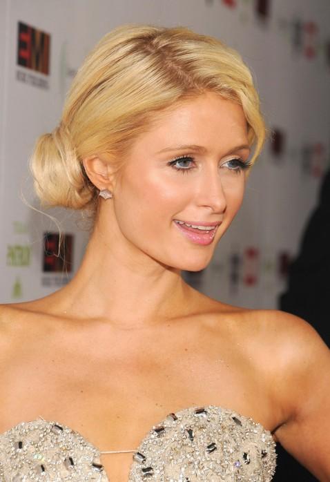 Wondrous Paris Hilton Cute Side Bun Updos For Long Hair Hairstyles Weekly Short Hairstyles Gunalazisus
