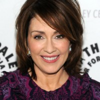 Patricia Heaton short bob hairstyle for women over 50s