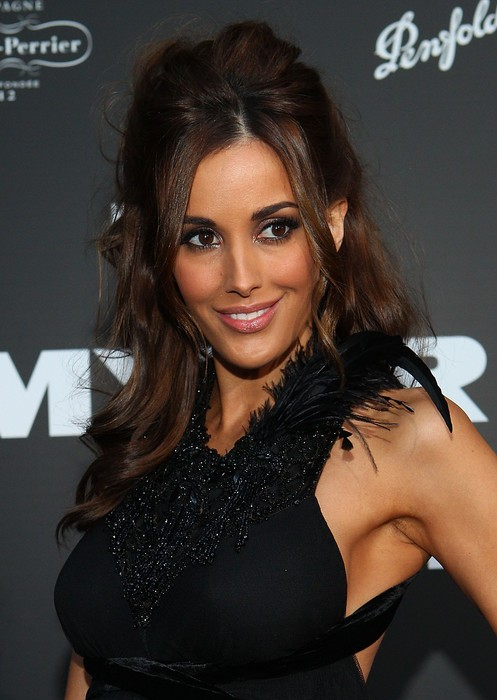 Rebecca Judd Half Up Half Down Hairstyle with Tousled Curls