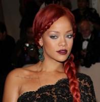 Rihanna Long Braided Hairstyle
