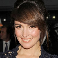 Rose Byrne Cute French Twist Updo Hairstyle