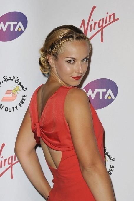 Sabine Lisicki Braided Hairstyle 2013 - 2014