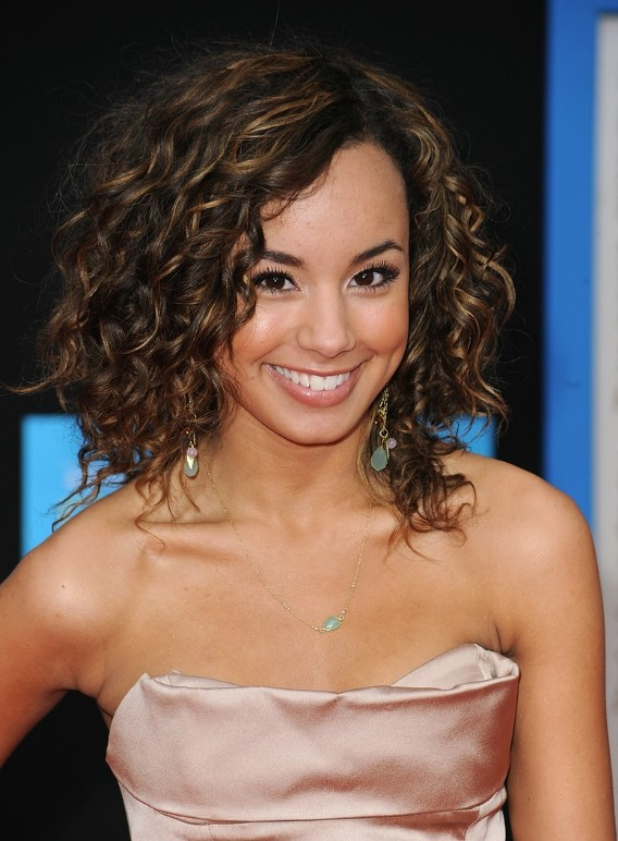 Medium Curly Hairstyles 2014