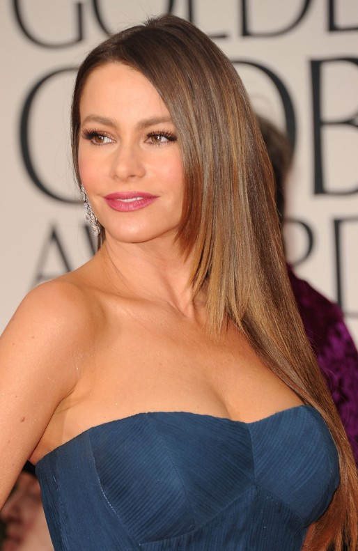 sexy hair styles for long hair sofia vergara sleek hairstyles for 2542 | Sexy Long Hairstyles for Women