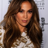 Jennifer Lopez Sexy Long Layered Hairstyles