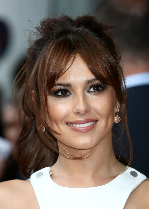 ... about the loose ponytail hairstyle with side bangs from Cheryl Cole