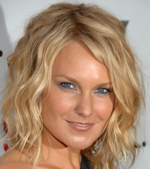 Superb Medium Wavy Hairstyles Hairstyles Weekly Hairstyles For Women Draintrainus