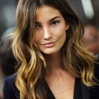 Sexy ombre hair from Lily Aldridge 200x200 رنگ موی سال 2013