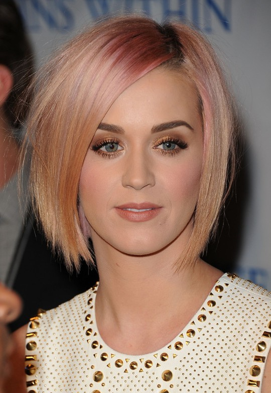 Katy Perry Short Blonde Hair