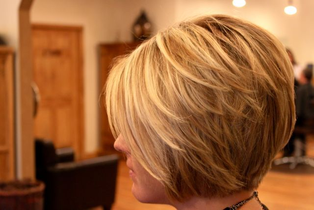 Marvelous Side View Of Cute Layered Bob Cut Hairstyles Weekly Short Hairstyles Gunalazisus