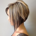 Side View of Graduated Bob Hairstyle - Trendy Bob Haircut for 2014