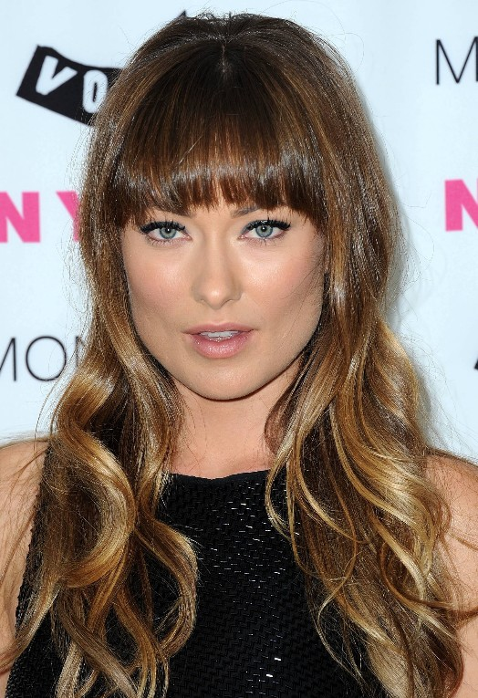 Sleek Ombre Hair from Olivia Wilde