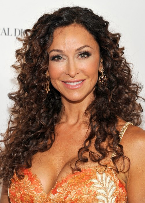 Sexy Long Curly Hairstyles for Women Over 40s - Hairstyles Weekly