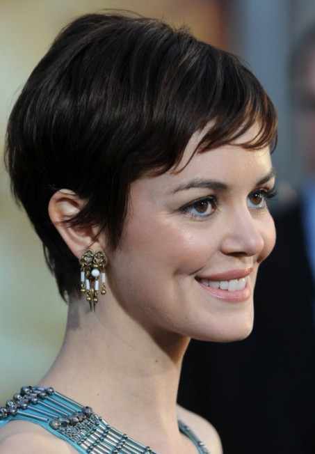 Soft Short Feminine Hairstyles 2013