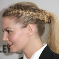 Stylish French Braid and Ponytail - Most Popular Braided Hairstyles