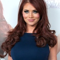 Stylish Long Curly Red Hairstyles 2013 - 2014