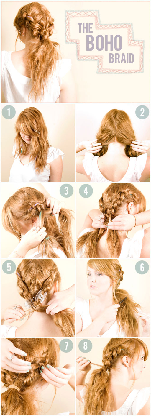 Astonishing How To French Braid Your Own Hair On The Side Of Head Best Hairstyles For Men Maxibearus
