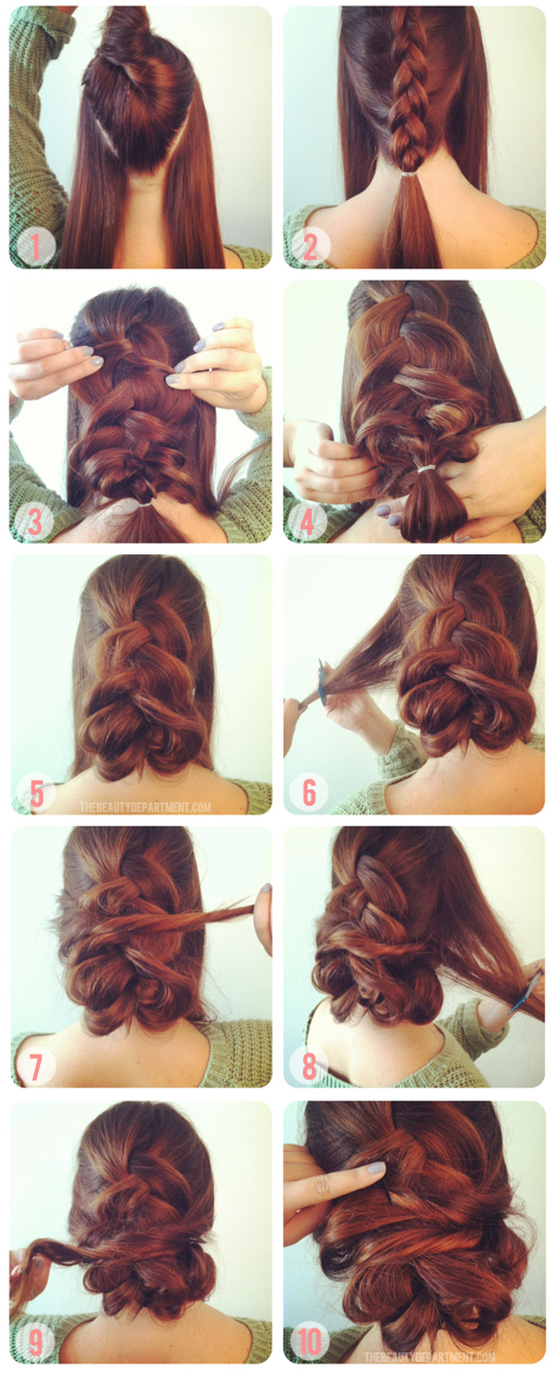 7 Ways To Braid Your Hair Diy Braid Amp Twist Hairstyles