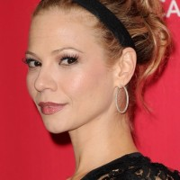 Tamara Braun Cute Messy Updo with Headband