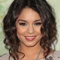 Vanessa Hudgens Medium Length Curly Hairstyle