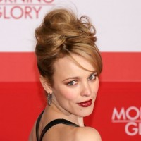 Voluminous French Twist Updo Hairstyle for Mature Women