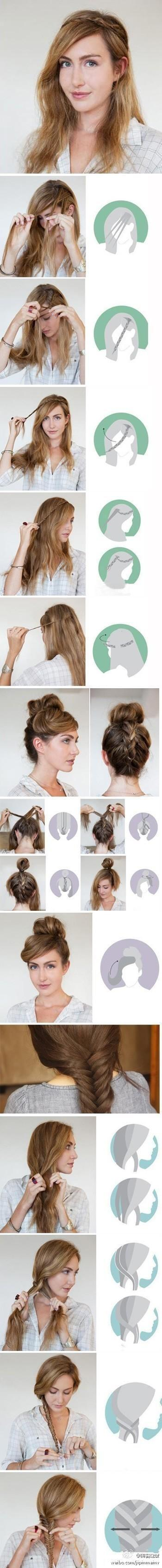 Short Hairstyles Tutorials Tumblr