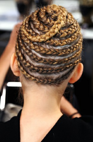 Beautiful Crown Braid Hairstyle