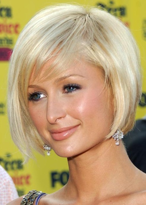 Paris Hilton Bob Hairstyles