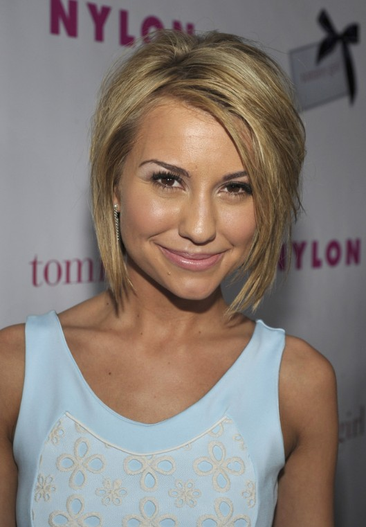 Chelsea Kane Layered Bob Hairstyle