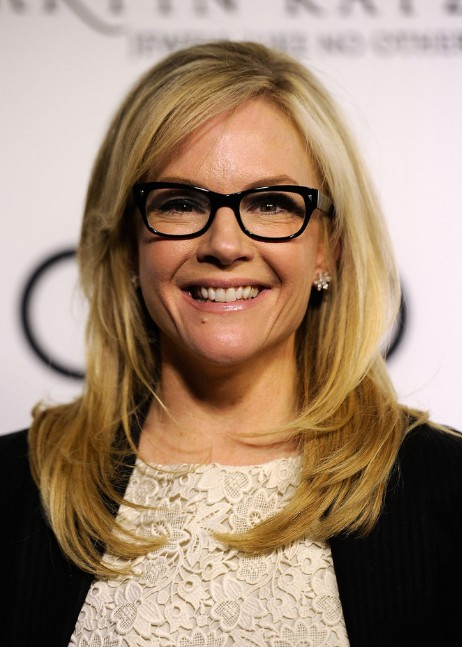 Peachy Rachael Harris Long Hairstyles With Layers And Side Bangs Short Hairstyles For Black Women Fulllsitofus