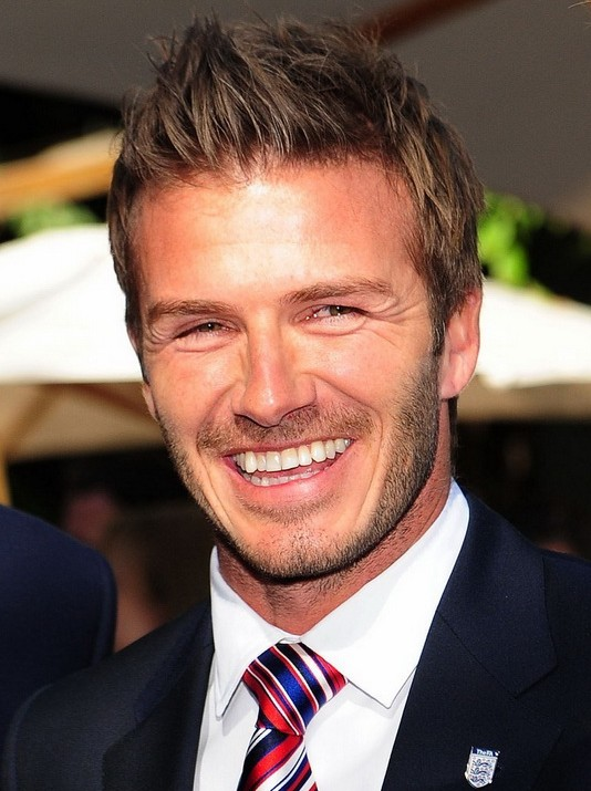 David Beckham Hairstyle 2012 - 2013
