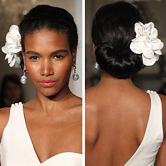 Here are some popular African American Wedding Hairstyles for women: