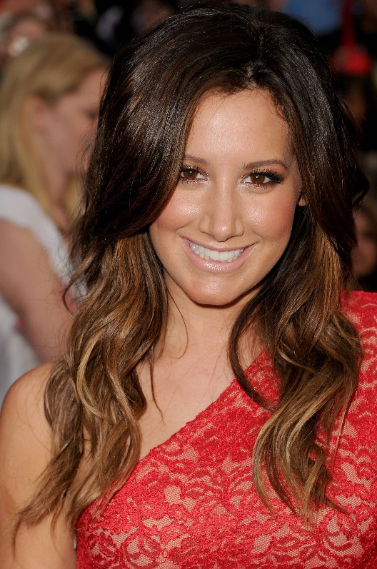 Ashley-Tisdale-Long-Ombre-Hair-Style