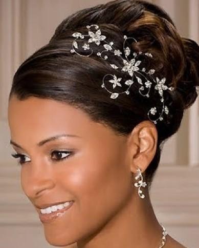 Incredible Black Wedding Hairstyles Updos Short Hairstyles Gunalazisus